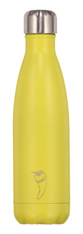 Chillys Neon Yellow Παγούρι από Ανοξείδωτο Ατσάλι 500ml