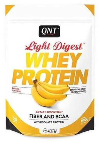 QNT Light Digest Whey Protein Banana, 40gr