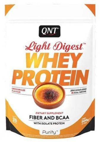 QNT Light Digest Whey Protein Creme brulee, 40gr