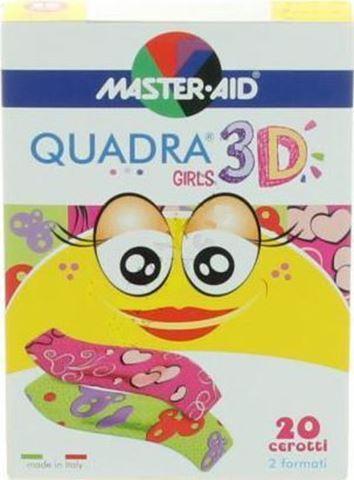 Ortopad Quadra 3D Girls 20 Αυτοκόλλητα