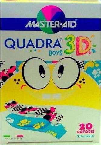 Ortopad Quadra 3D Boys 20 Αυτοκόλλητα
