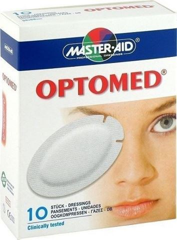 Master Aid Optomed 10 Γάζες
