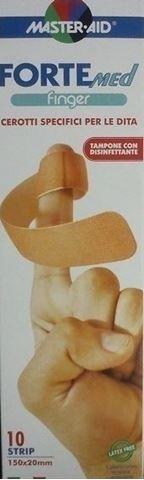 Master Aid ForteMed Finger 150Χ20mm, 10 Τεμάχια