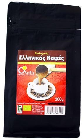 Όλα Βίο Καφές Ελληνικός 200γρ