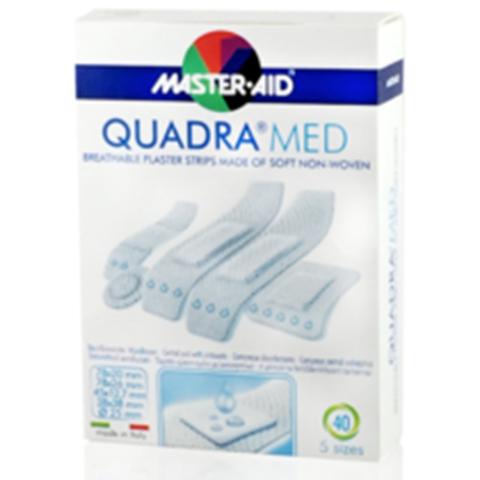 Master-Aid Quadramed Γάζες , 40 Τεμάχια