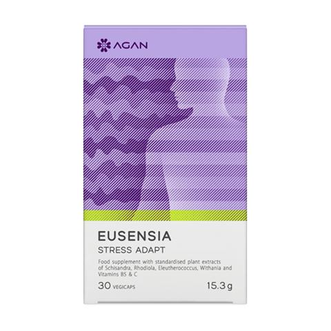 Agan Eusensia Stress Adapt 30 Φυτικές Κάψουλες