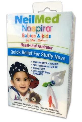 NeilMed Naspira Babies & Kids Nasal-Oral Aspirato