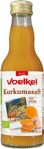 Voelkel Βιολογικός Χυμός Κουρκουμά 200ml