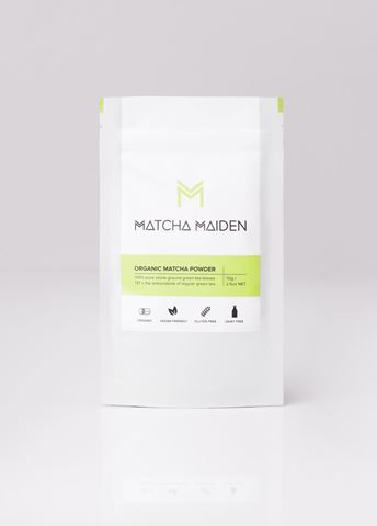 Matcha Maiden 100% Organic Original Japanese Matcha Powder Αντιοξειδωτικό Πράσινο Τσάι 70gr