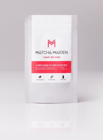 Matcha Maiden Light My Fire Αντιοξειδωτικό Πράσινο Τσάι 70gr