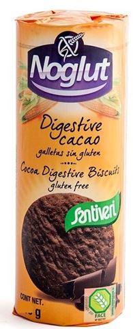 Santiveri Μπισκότα Digestive Κακάο Χωρίς Γλουτένη 195gr