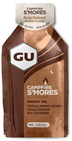 GU ενεργειακό gel  Campfire S'mores 32gr, Χωρίς Καφείνη