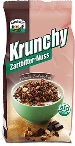 Barnhouse Μούσλι Crunchy Μαύρη Σοκολάτα - Φουντούκι Βιο 375gr