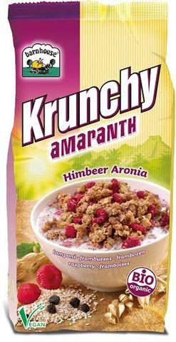 Barnhouse Μούσλι Crunchy Σμέουρο - Αρώνια Βιο 375gr