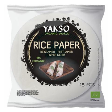 Yakso Φύλλα Ρυζιού 150g Bio