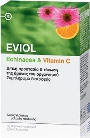 Eviol Echinacea & Vitamin C 60 Μαλακές Κάψουλες