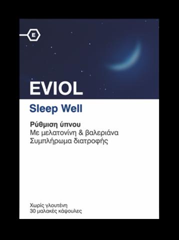 Eviol Sleep Well 30 Μαλακές Κάψουλες