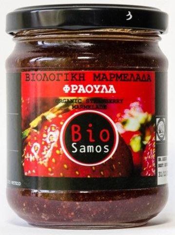 Bio Samos Μαρμελάδα Φράουλα 220γρ