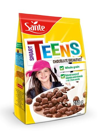 Sante Smart Teens Chocolate balls - Ολικής άλεσης 250gr