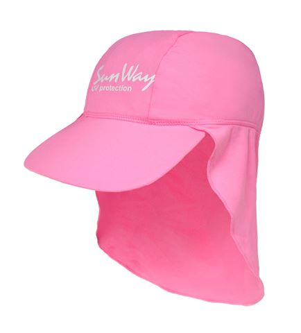 Sunway Καπέλο UV Ανοικτό Ροζ Baby 6-24 Months