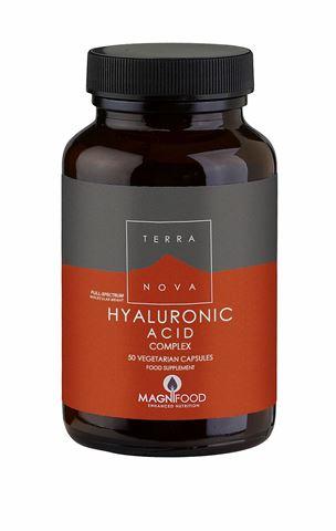 Terranova Hyaluronic Acid Complex, 50 Κάψουλες