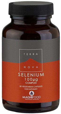 Terranova Selenium 100μg, 50 Φυτικές Κάψουλες
