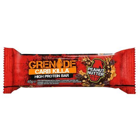 Grenade Carb Killa Μπάρες Υψηλής Πρωτεΐνης Peanut Nutter, 60 γρ.