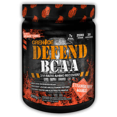 Grenade Defend BCAA Strawberry Mango 390gr