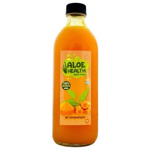 Όλα Βίο Φυσικός Χυμός Aloe Vera με Κουρκουμά 1000ml