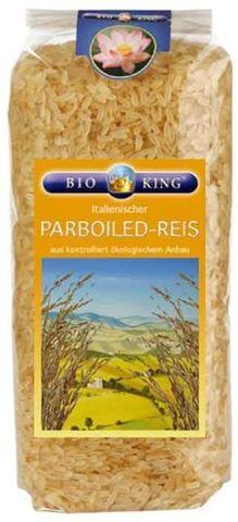 Bio King Βιολογικό Ρύζι Parboiled 1000γρ