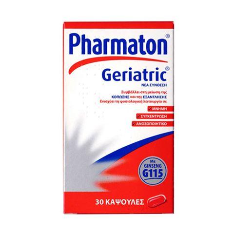 Pharmaton Geriatric, 30 Κάψουλες