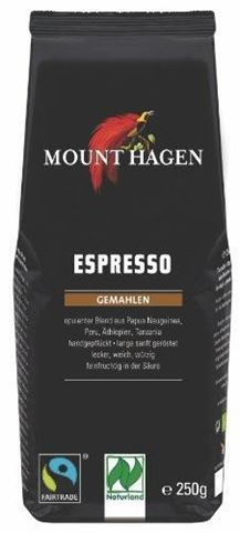 Mount Hagen Καφές Espresso BIO 250gr