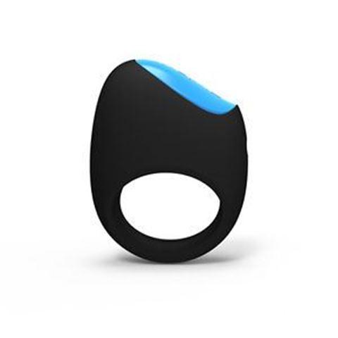 Lelo Δακτυλίδι δόνησης Remoji: Lifeguard Ring Vibe Black