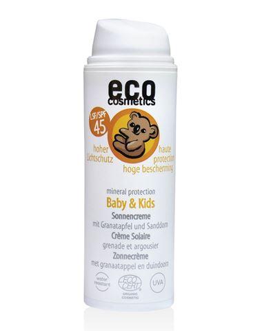 Eco Cosmetics Αντηλιακή Κρέμα Baby SPF45, BIO, 50ml