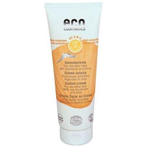 Eco Cosmetics Αντηλιακή Κρέμα Προσώπου SPF30, BIO, 75ml