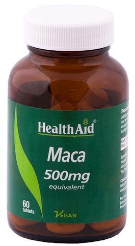 Health Aid Maca 500mg, 60 Ταμπλέτες