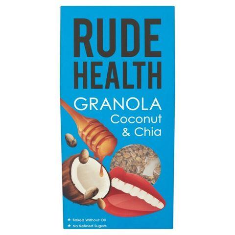 Rude Health Granola Καρύδα & Chia Οργανική 450γρ