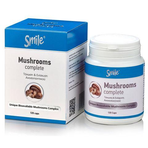 Smile Mushrooms Complete 120 Κάψουλες