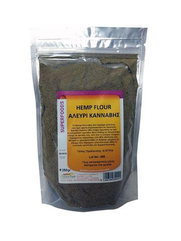 Health Trade Αλεύρι Κάνναβης (Hemp Flour) 250γρ