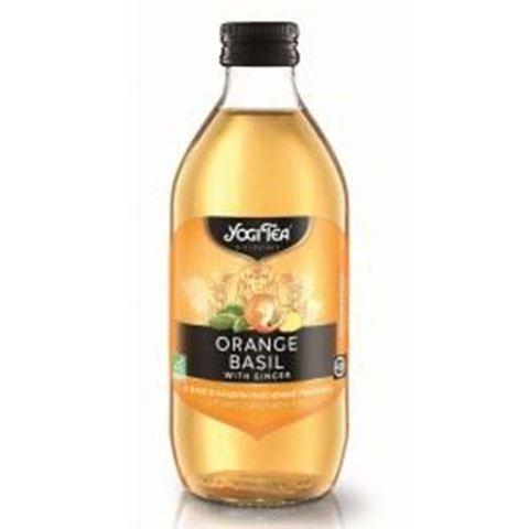 Yogi ICE Tea Πορτοκάλι, Βασιλικός, Τζίντζερ 330ml
