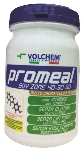 Volchem Milkshake Κακάο διατροφικής μεθόδου Zone 40-30-30, 400γρ