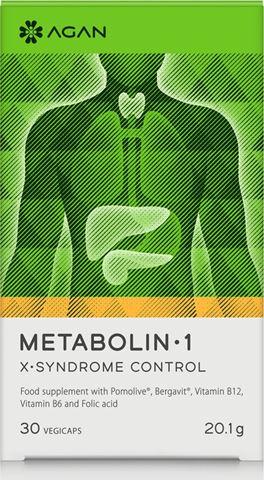 Agan Metabolin 1, 30 Φυτικές Κάψουλες