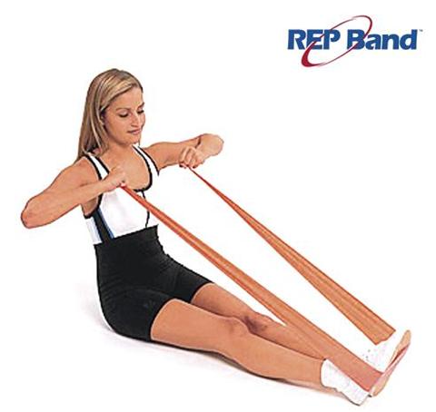 Rep Band Λάστιχο Γυμναστικής Ροδακινί 5.5μ, Level 1, 233000