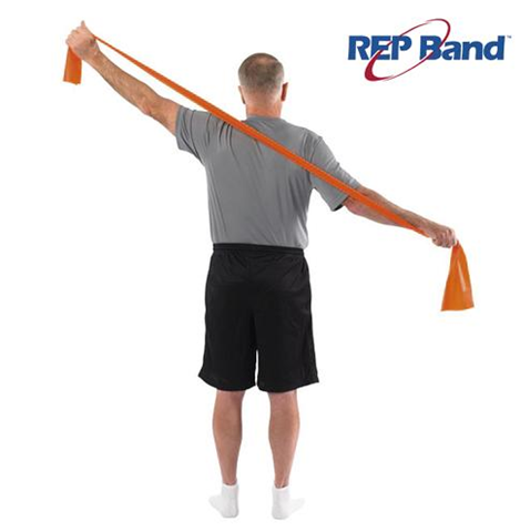 Rep Band Λάστιχο Γυμναστικής Πορτοκαλί 5.5μ, Level 2, 233001