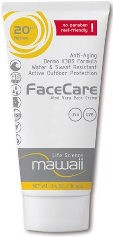 Mawaii FaceCare SPF20 – 30ml Αντηλιακό Ειδικό για Watersports