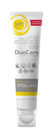 Mawaii DuoCare SPF 50 – 25ml + 3,2gr Αντηλιακό Ειδικό για Watersports