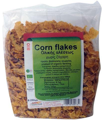 Health Trade Corn Flakes Ολικής Χωρίς Ζάχαρη 250γρ