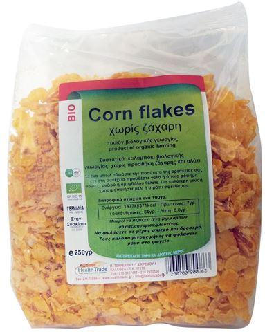 Health Trade Corn Flakes Χωρίς Ζάχαρη 250γρ