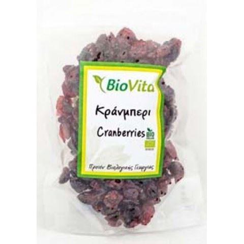 Βiovita Cranberries 150 γρ. Με Ζάχαρη ΒΙΟ