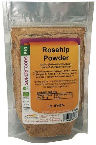 Health Trade Rosehip Powder 125gr